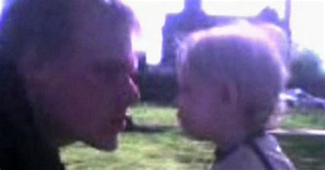 Baby P killer Steven Barker plays dad in home movie - pic