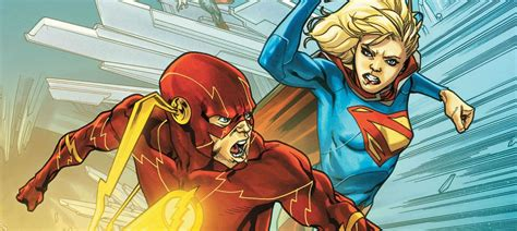 Supergirl meeting Flash is a game-changer for DC