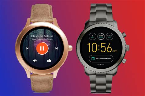 Fossil's latest Android Wear smartwatches are now
