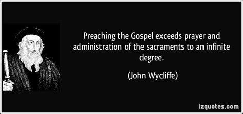 Quotes About Preaching The Gospel